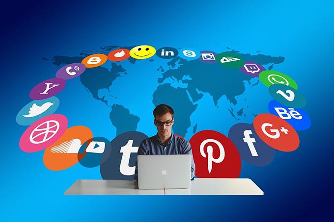 публикуване в социалните мрежи
